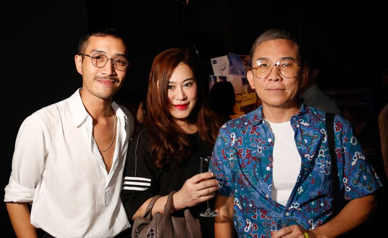 Tengku Syahmi, Qristina Lim and Jimmy Ong