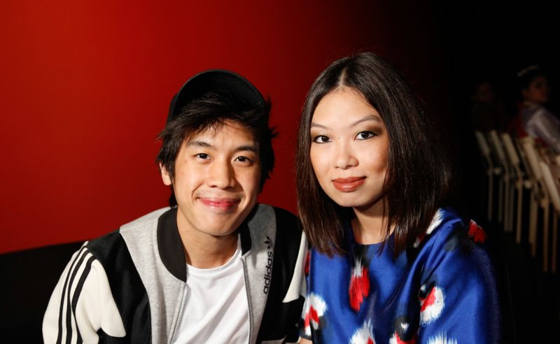 Mark Tan and Joan Tan
