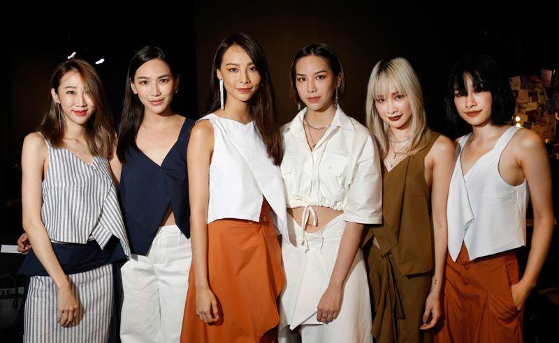 Daphne Charice, Jane Chuck, NaNa, Ash, Cherrie Mun and Evangeline Yan