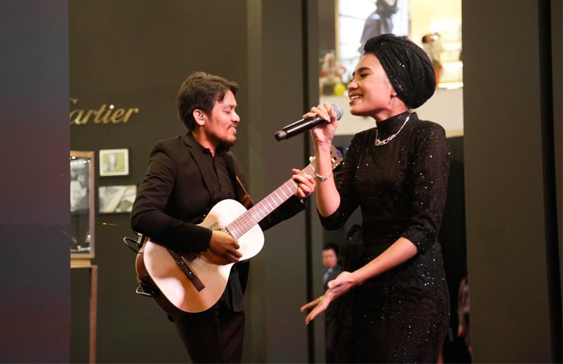 Superstar Yuna serenaded guests with beautiful melodies and a stunning performance.