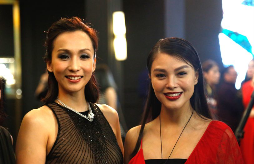 Belinda Chee and Carmen Soo
