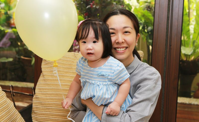 Aunt to the birthday girl, Lim Ai Chiin