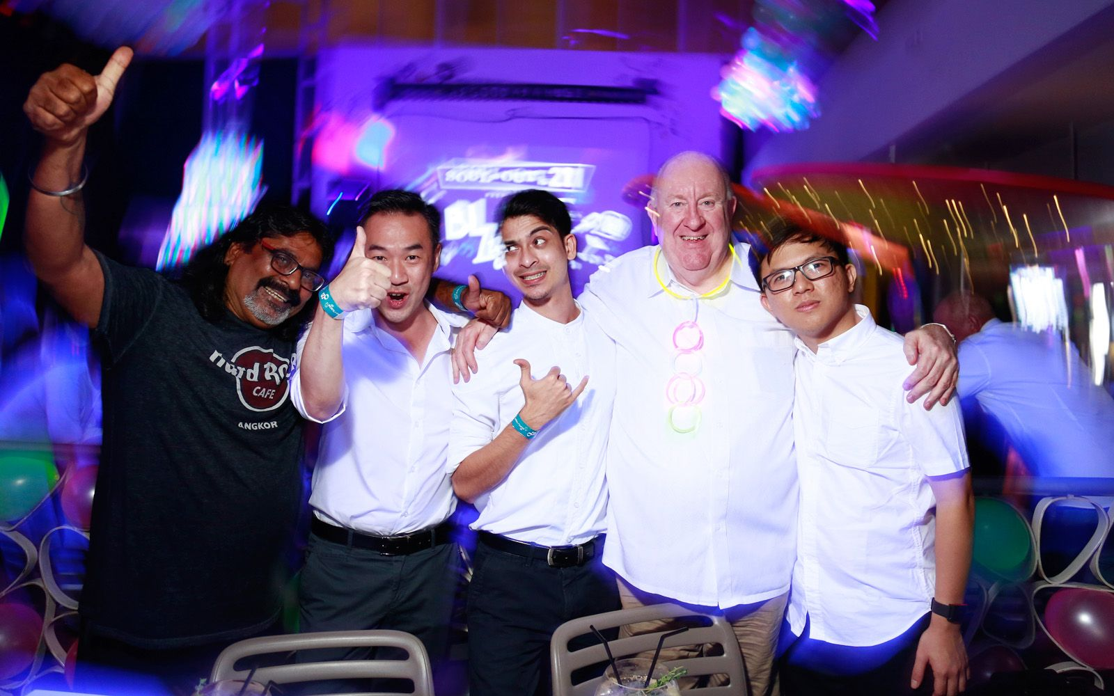 Rai Krish, Jeremy Kow, Slim Nazari, Wayne Kline and Deric Lee