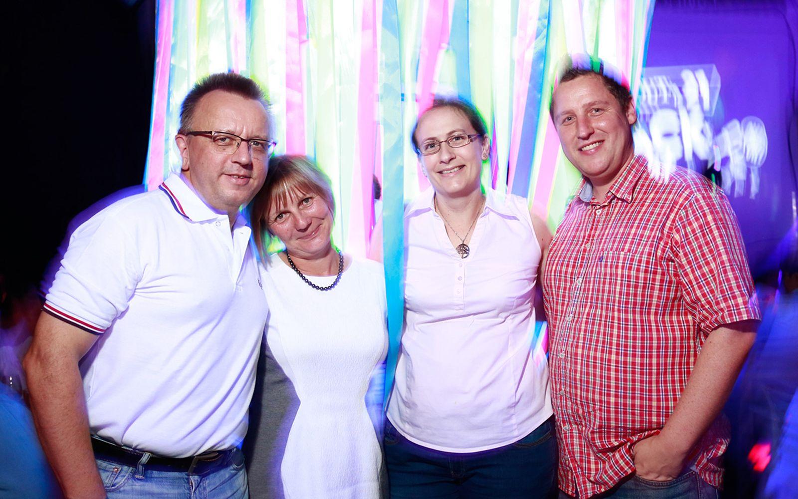 Heiko Ziesmann, Stephanie Ziesmann, Marek Dierks and Simone Dierks