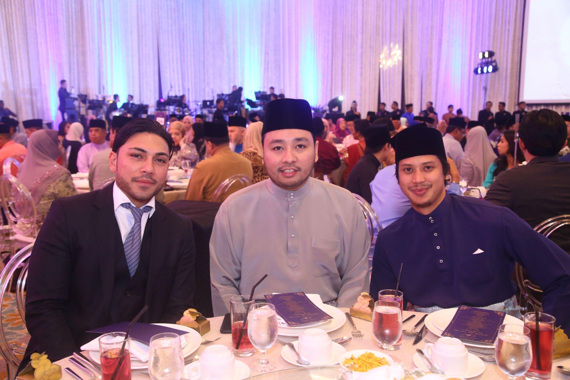 Ral Sho Umemto, Tengku Azran Abdul Jawaad and Raja Amir Arshad