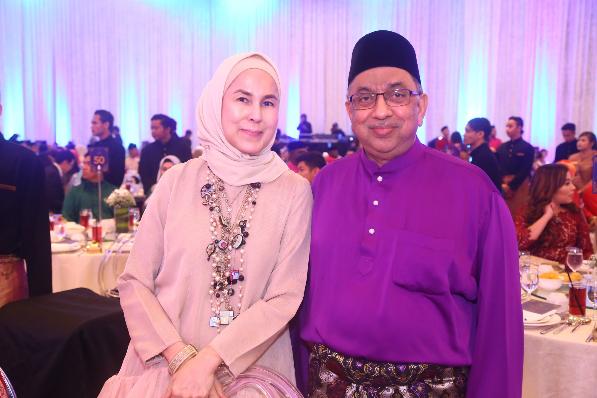 Dato Dr Zainal Azizan and Datin Shariffah Noor Rita
