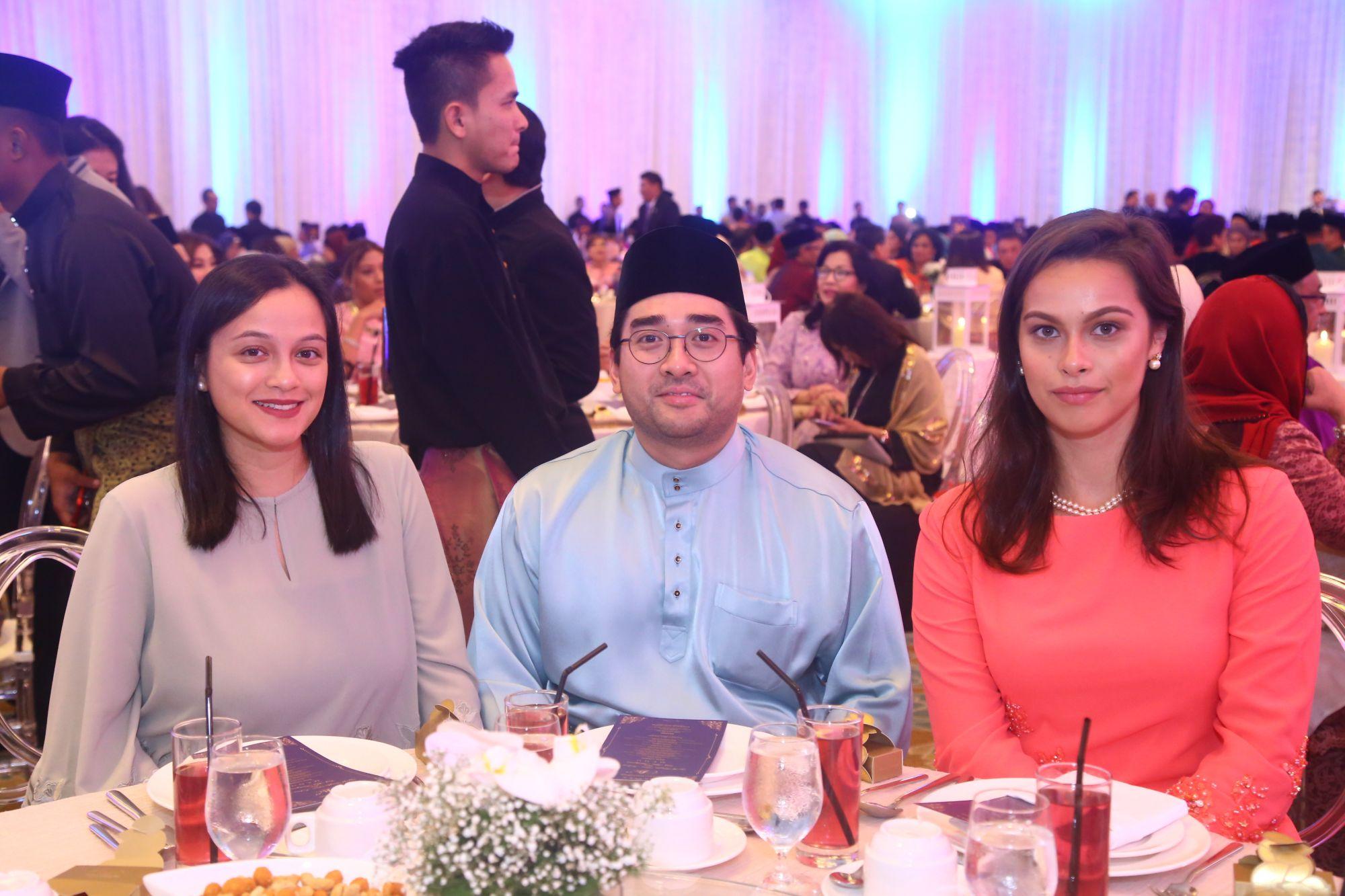 Fatin Liyana Abdul Rahim, Hafiz Jamaludin and Saskia Natrah Schwarz