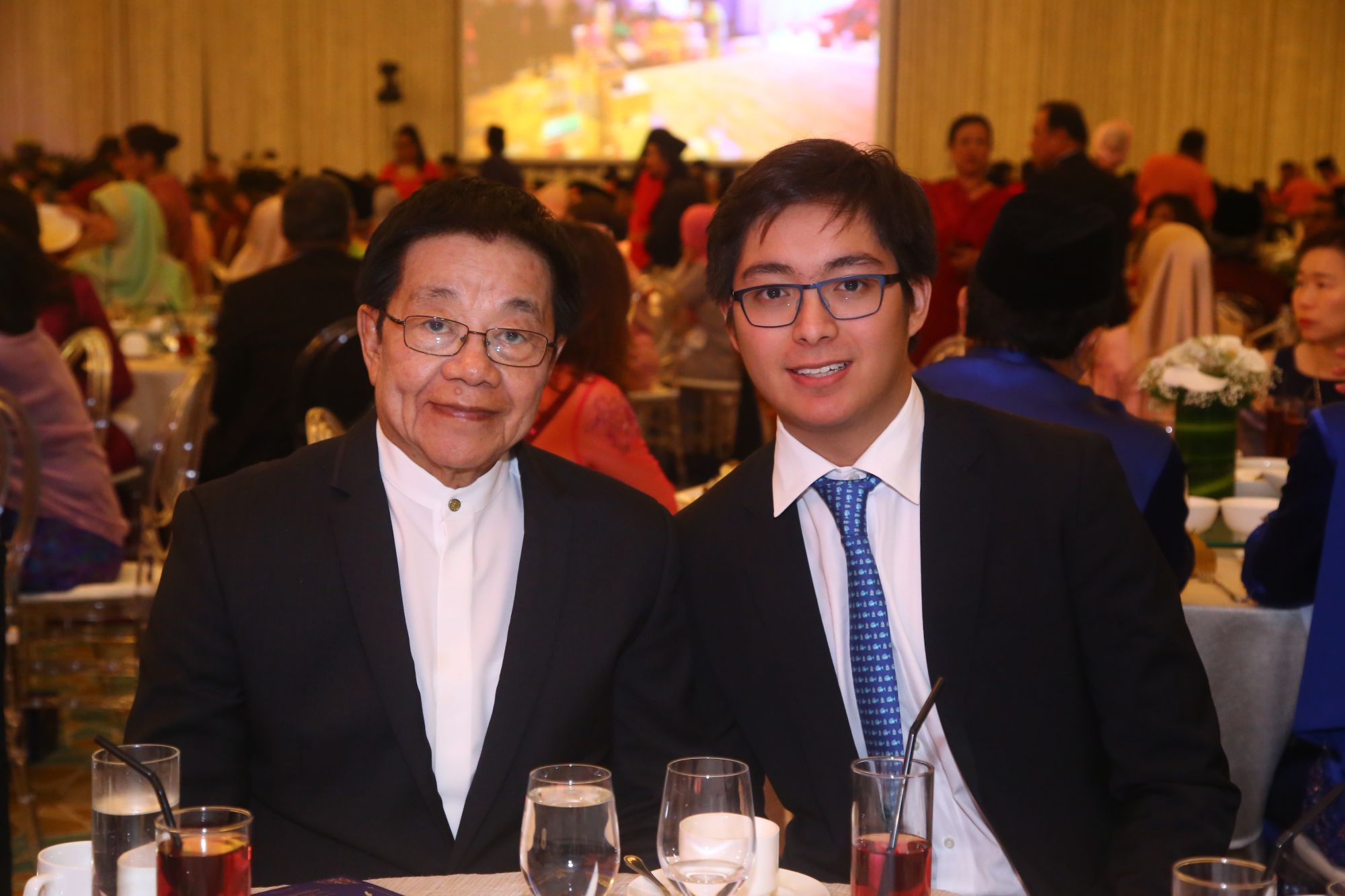 Tan Sri Lim Cheng Pau and Adam Lim