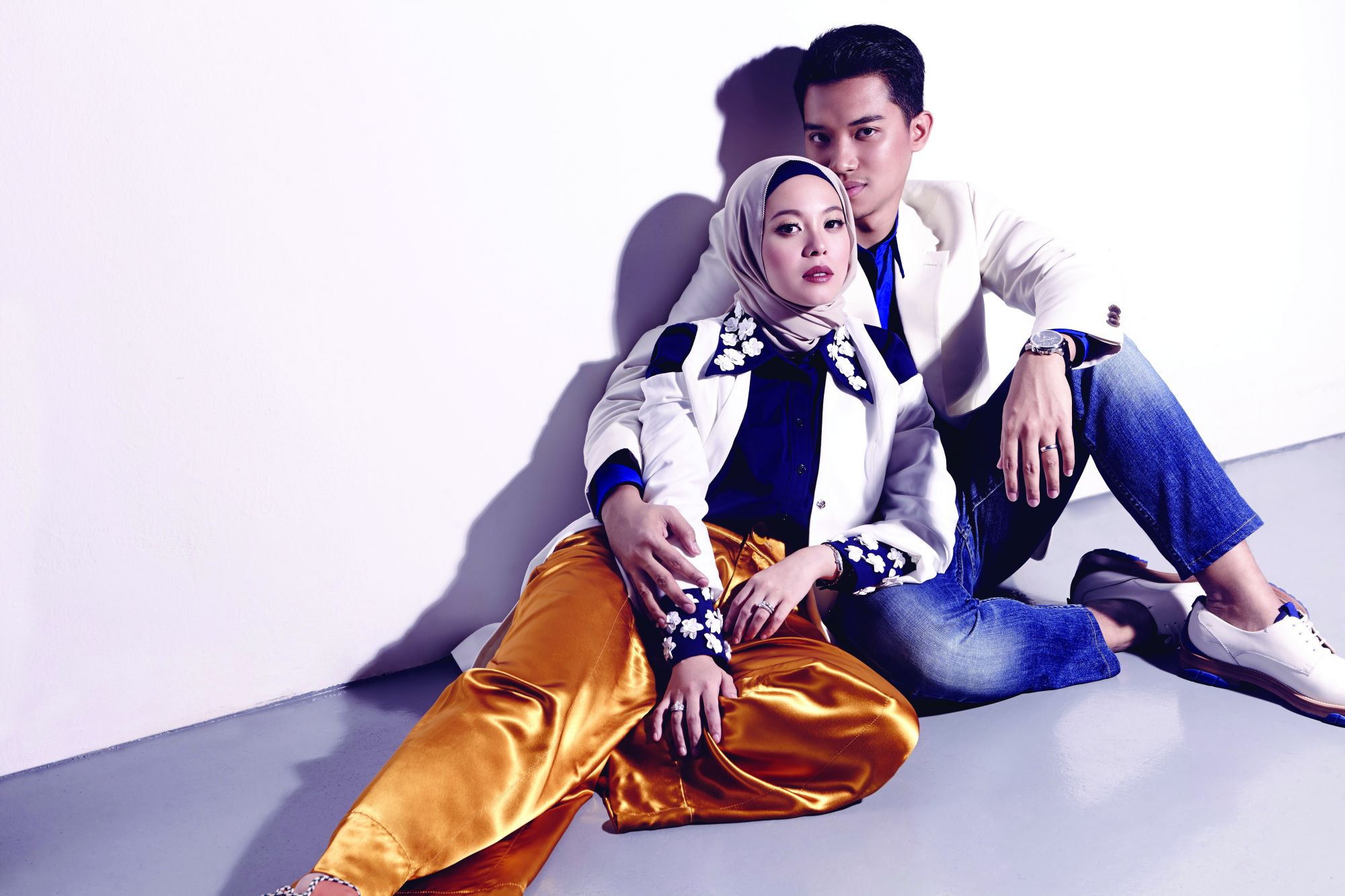 Vivy Yusof with husband, Fadza Anuar, the FashionValet co-founders | Malaysia Tatler