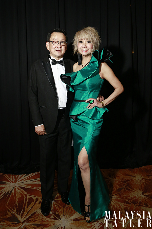 Dato' Richard Teo and Winnie Loo in Keith Kee Couture