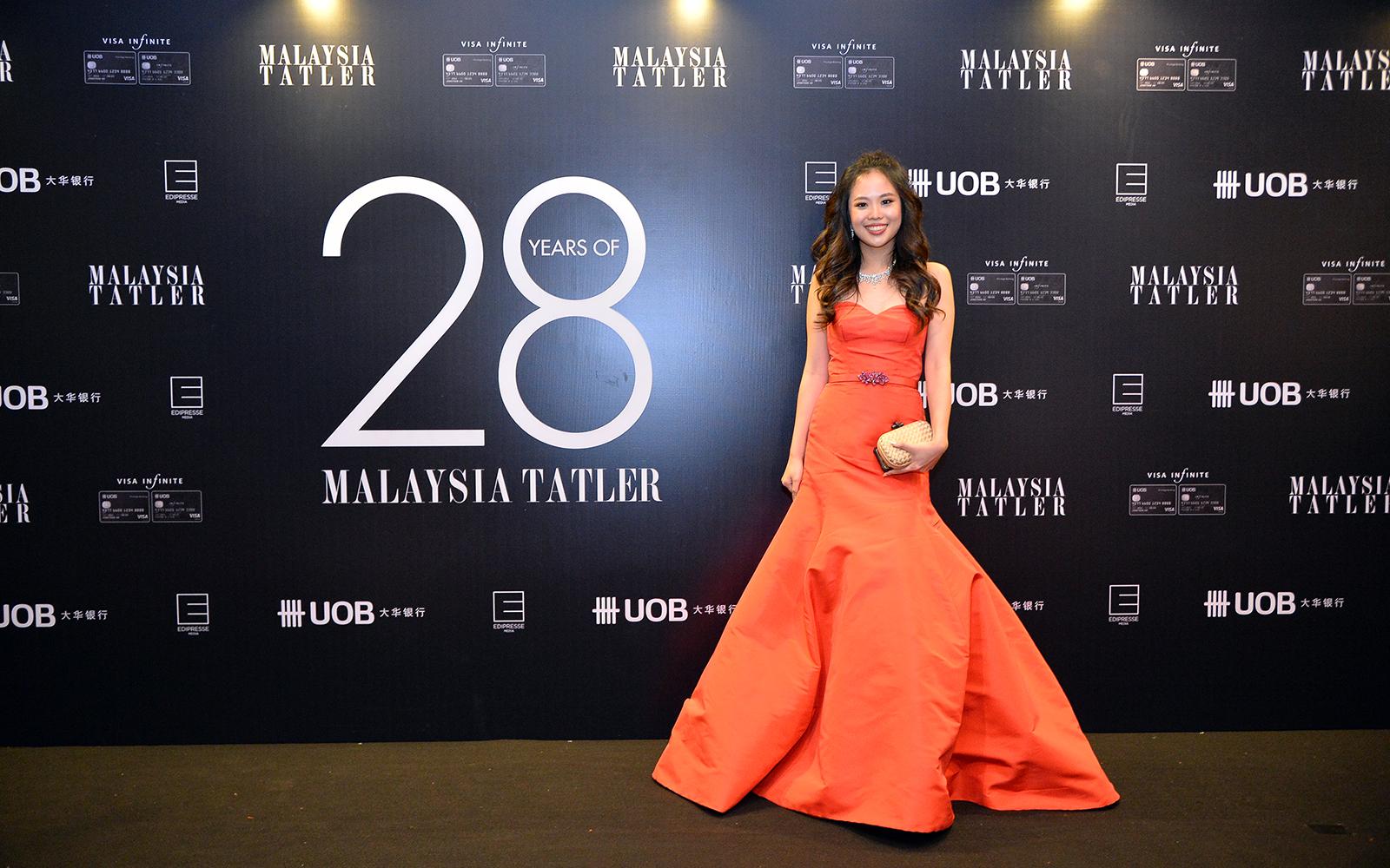 Yap Po Leen in Oscar de la Renta