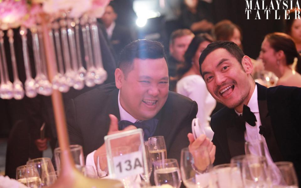 Benjamin Yong and Datuk Jared Lim