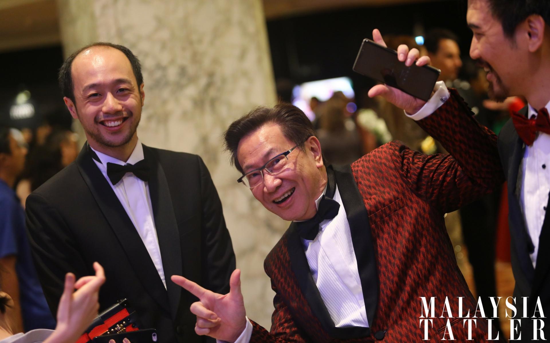 Dion Tan and Dato Simon Foong