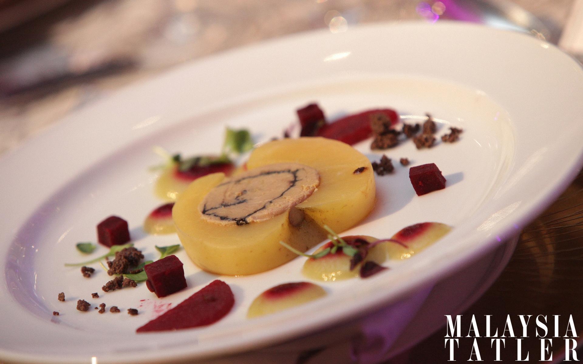 Duck foie gras confit