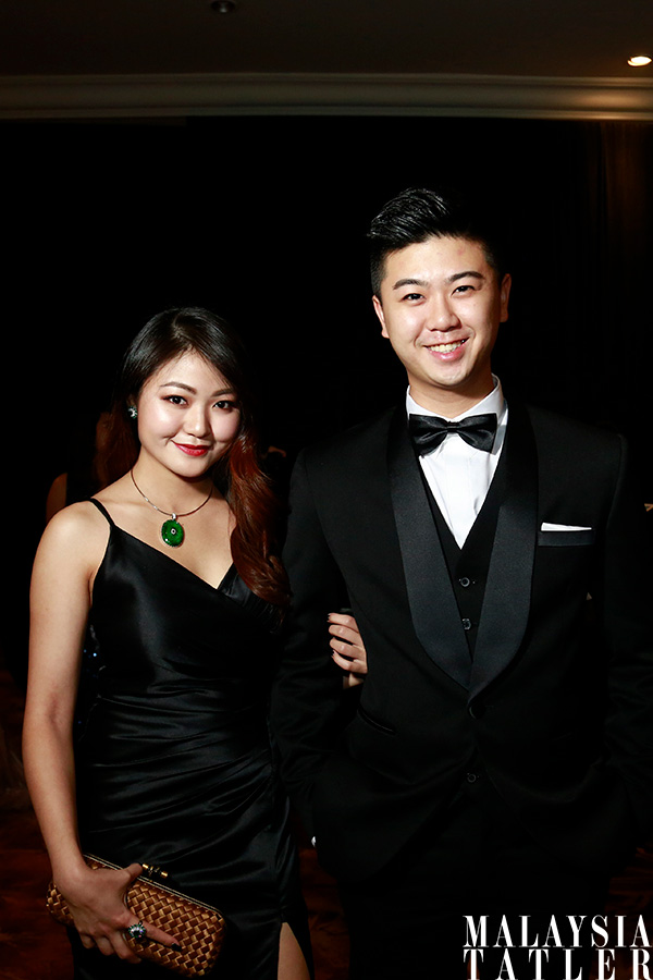 Denise Chiew and William Sin