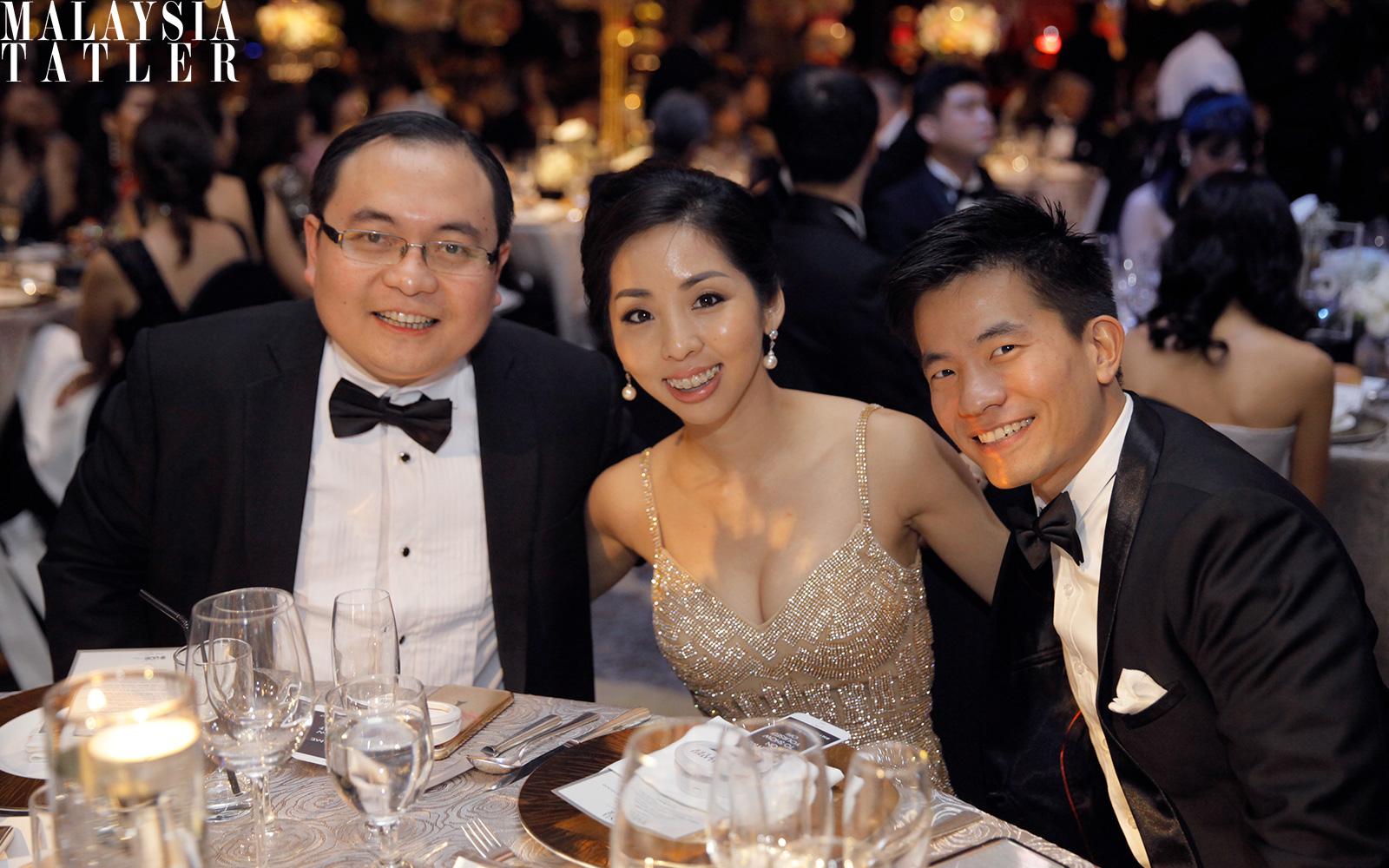 Yeoh Chen Chow, Elisa Khong and Khailee Ng
