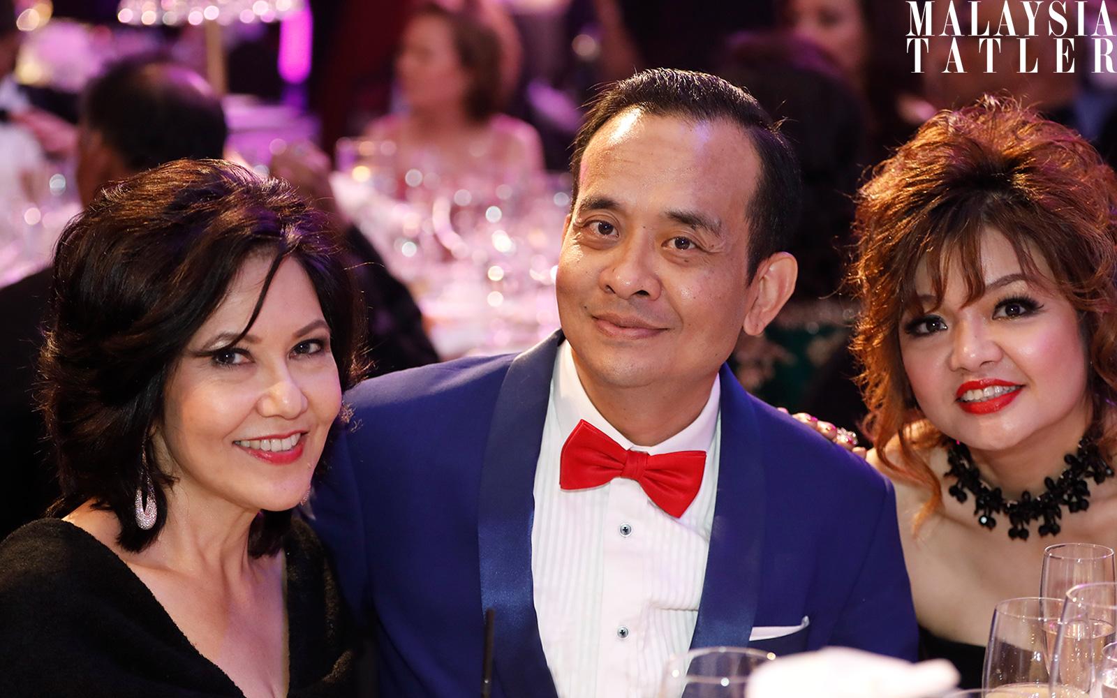 Alice Yong, Jamaludin Zakaria and Lily Tan