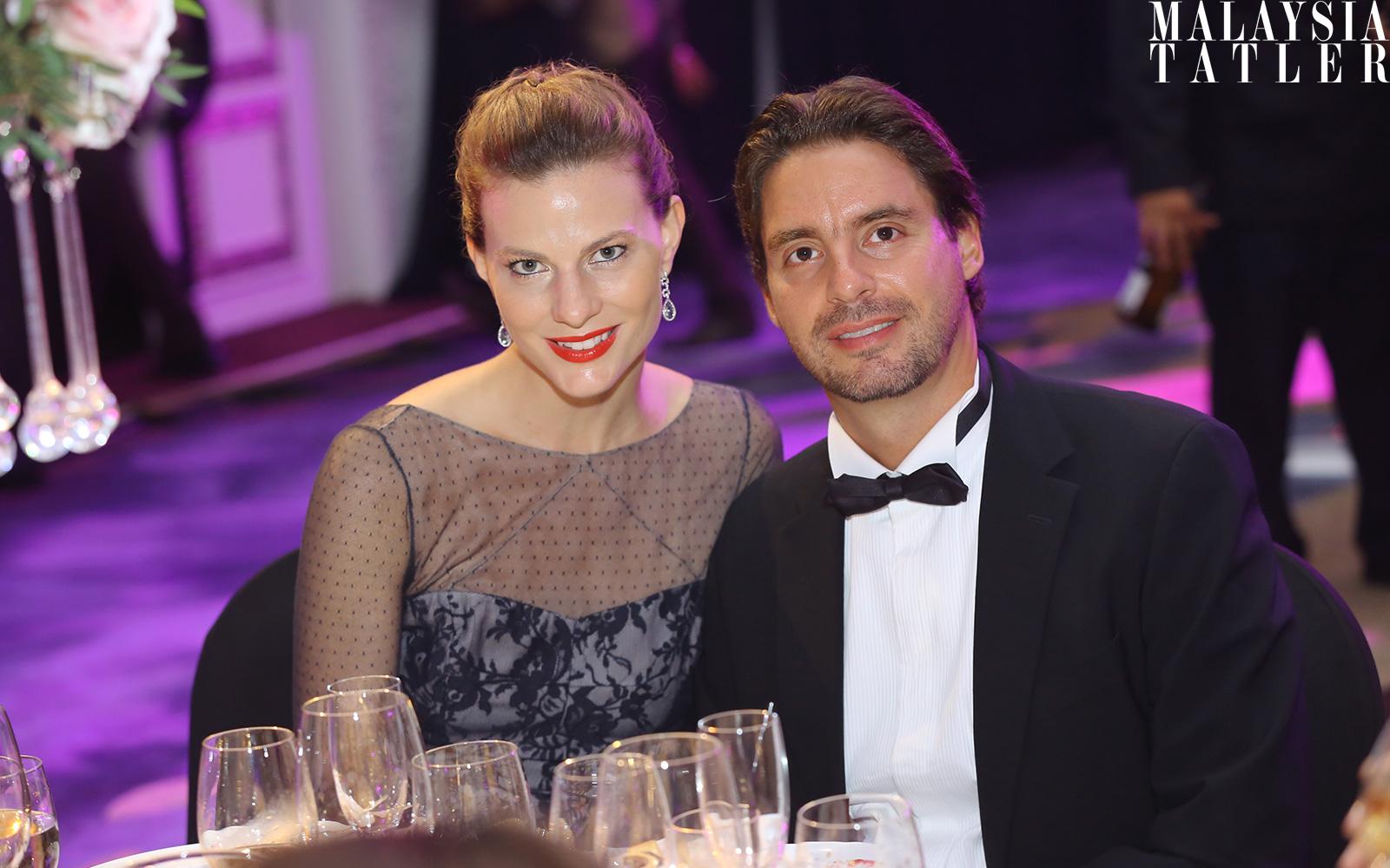 Aurelia Silva and Guilherme Silva