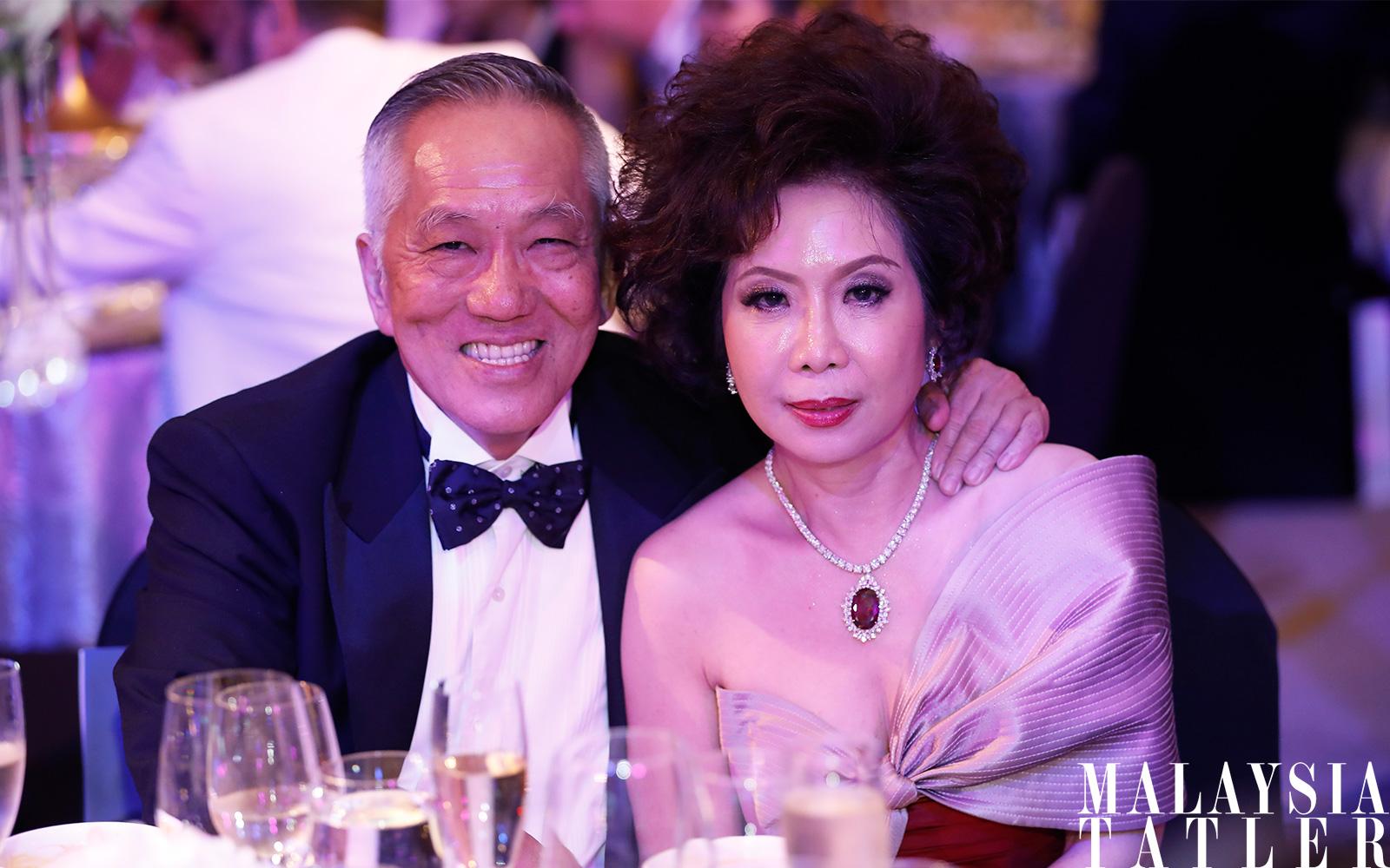 Dato' Sri Yap Teiong Choon and Datin Sri Barbara Yap