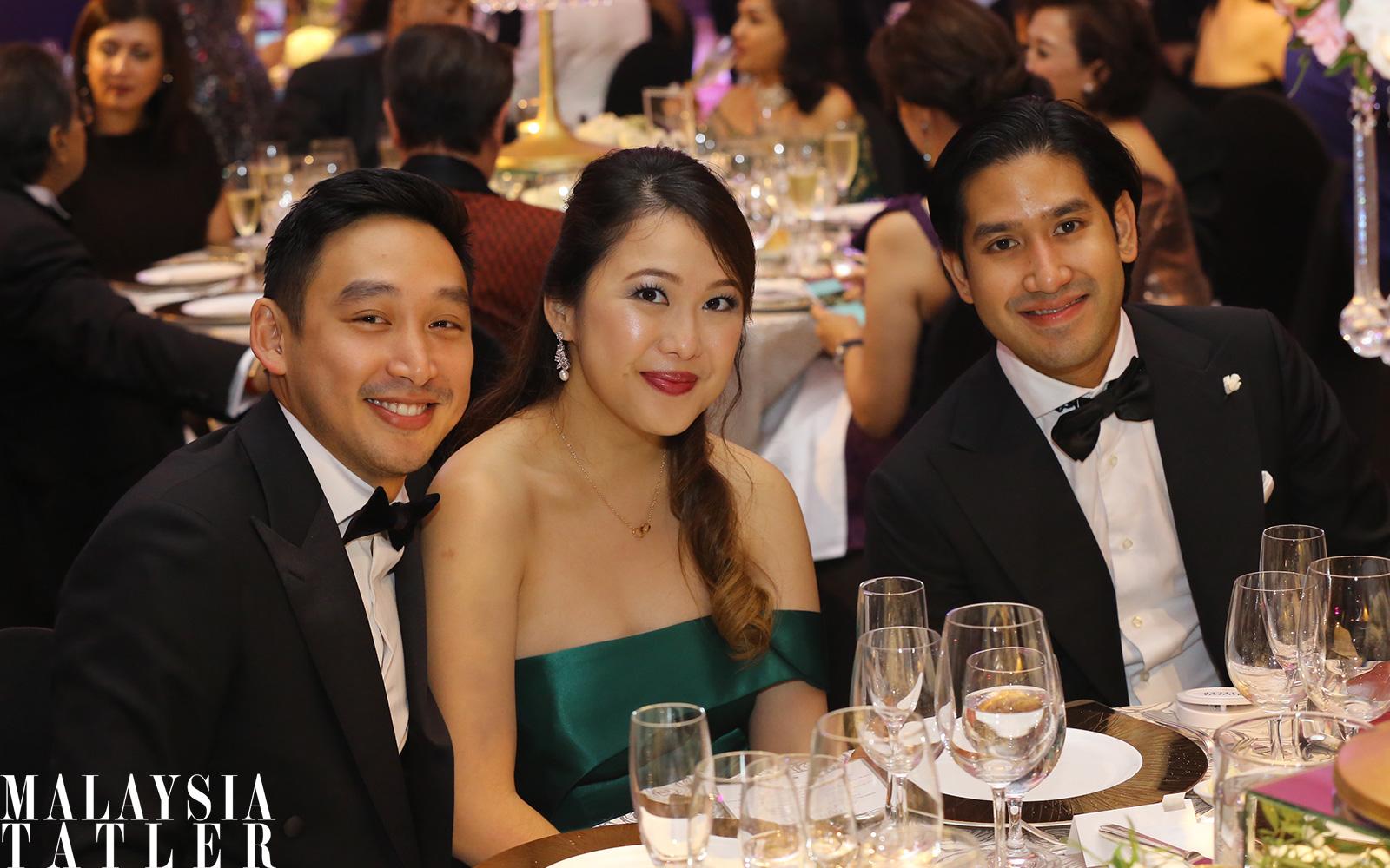 Donovan Ng, Claire Ng and Devan Linus Rajadurai