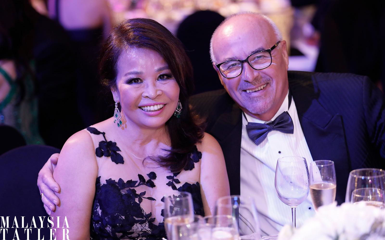 Shirley and Ross Hamilton
