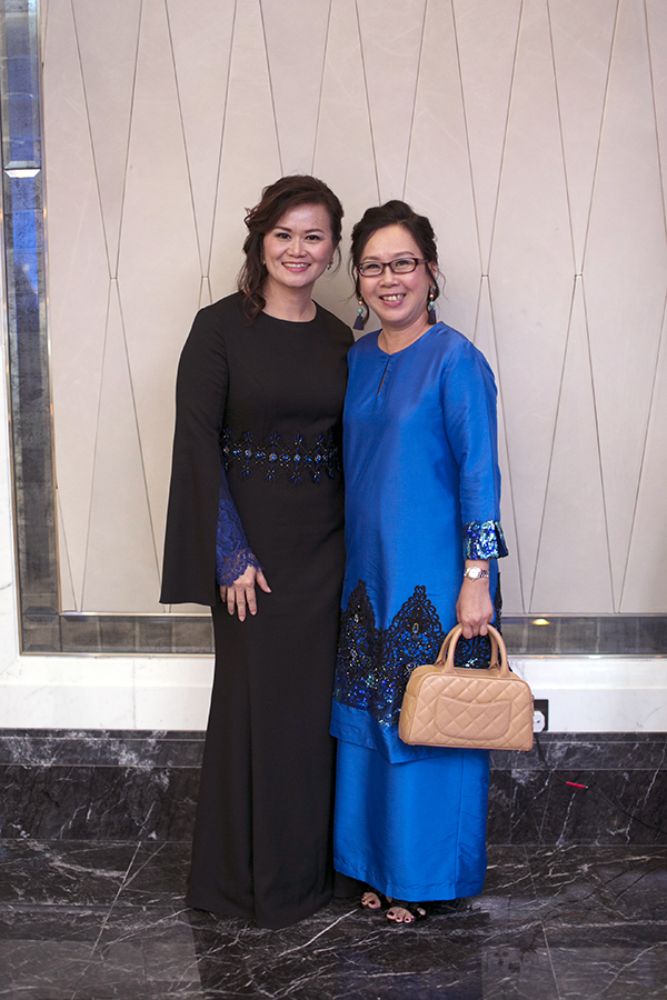 Ding Mee Huong and Lim Lay Hong