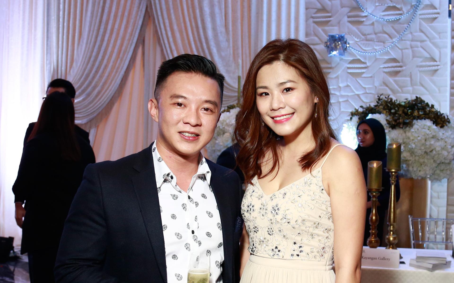 Chai Kah Fei and Ennis Lee