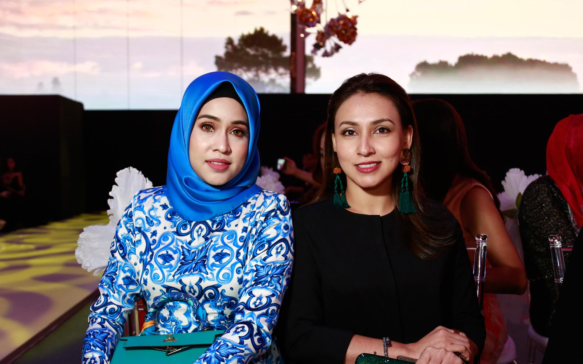 Datin Sharifah Sheena and Hanny Osman