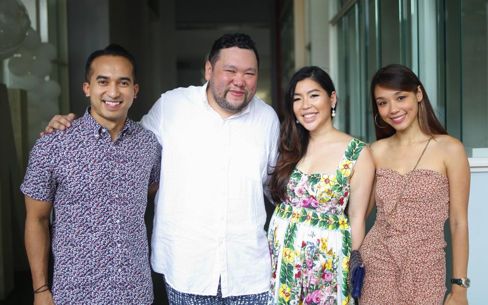 SM Nasarudin, Benjamin Yong, Elizabeth Lee-Yong and Marion Caunter