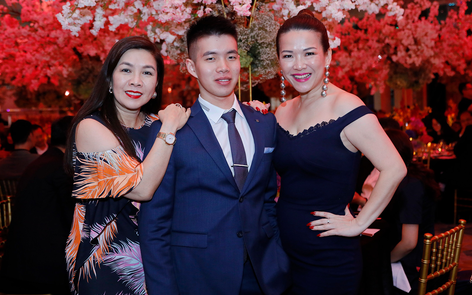 Dato Flora Ong, Luo Yong Wen and Tanny Tee