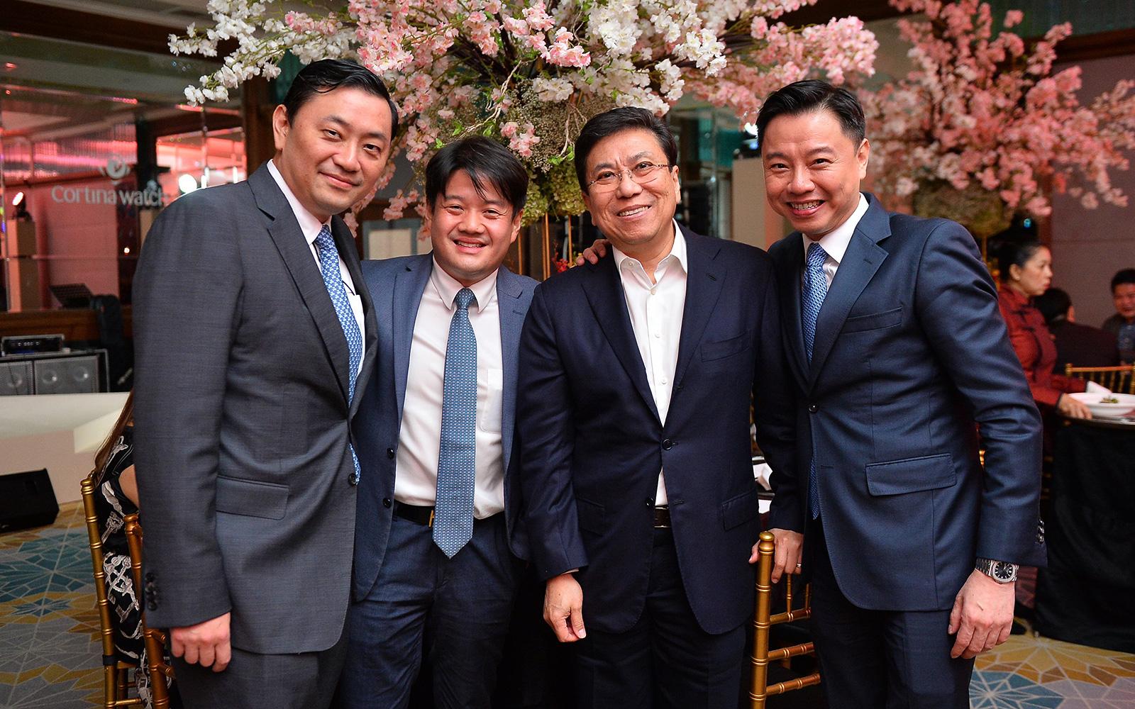 Dato Sri Robin Tan, Dato Douglas Cheng, Datuk KC Yeow and Tay Liam Khoon