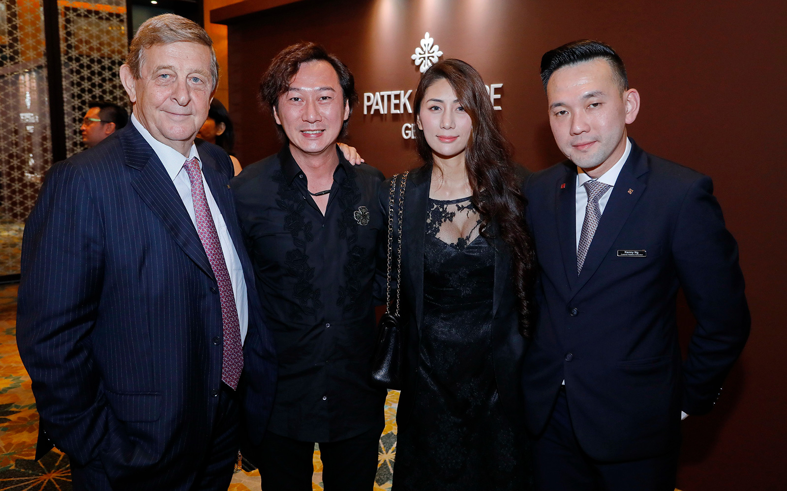 Dirk Paulsen, Dato Rey Gan, Datin Loraine Nuevo Gan and Kenny Ng