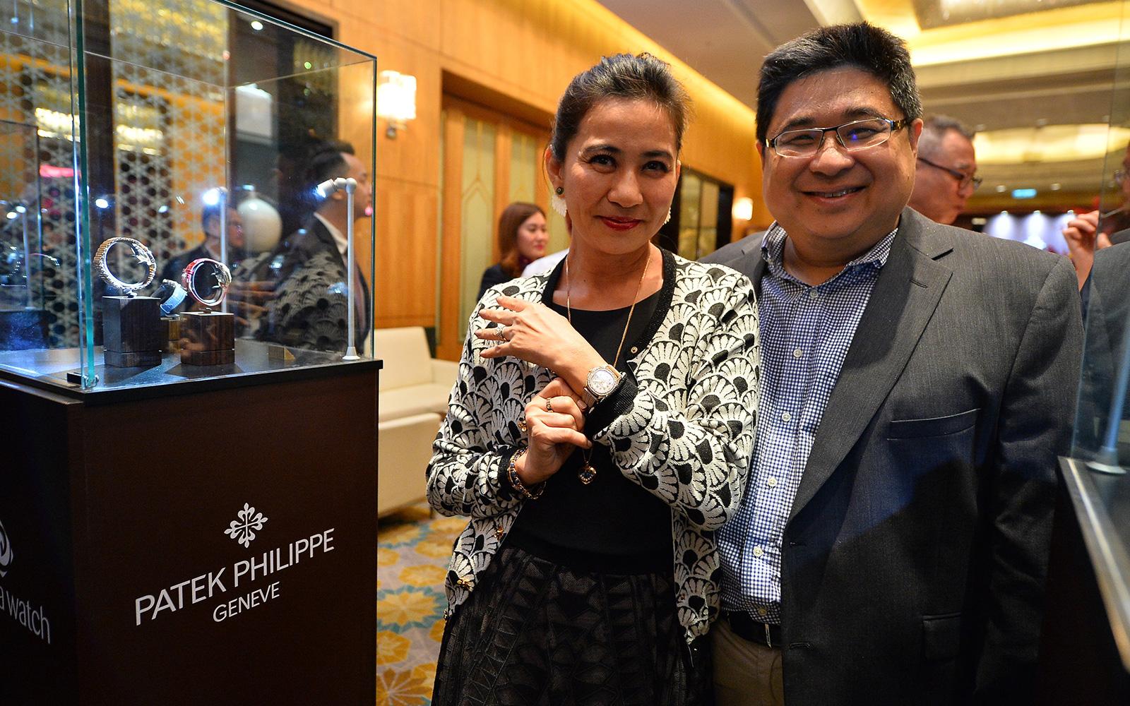 Faith Chow and Kington Tong