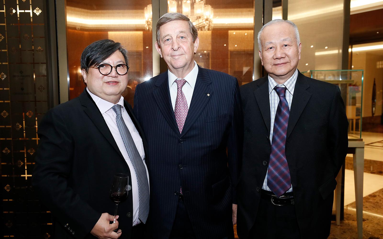 Raymond Lim, Dirk Paulsen, Ivan Tshai