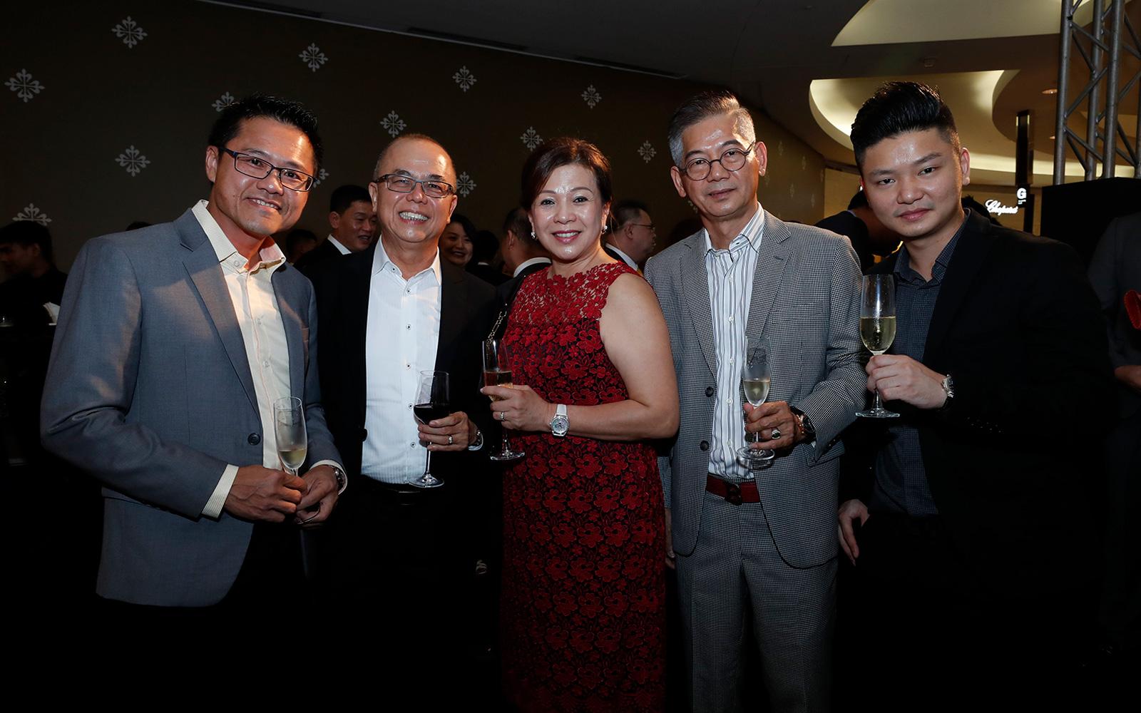 Yong Jeng Yih, Chan Yee Wah, Shirley Gan, Hew Yoon Kiong and Leo Hew