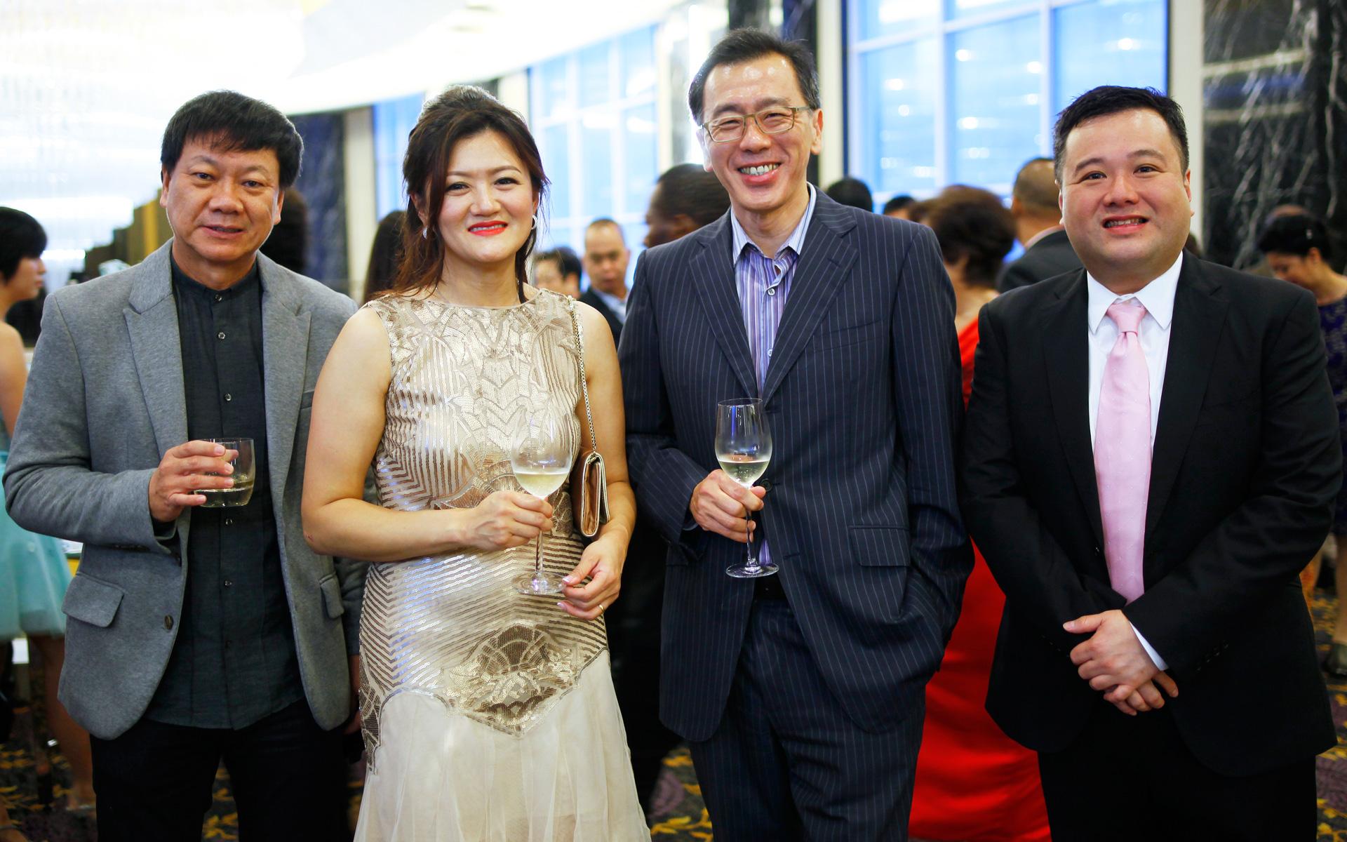 YC Tan, Kimmie Lam, Seo Han Soo and Kevin Lim