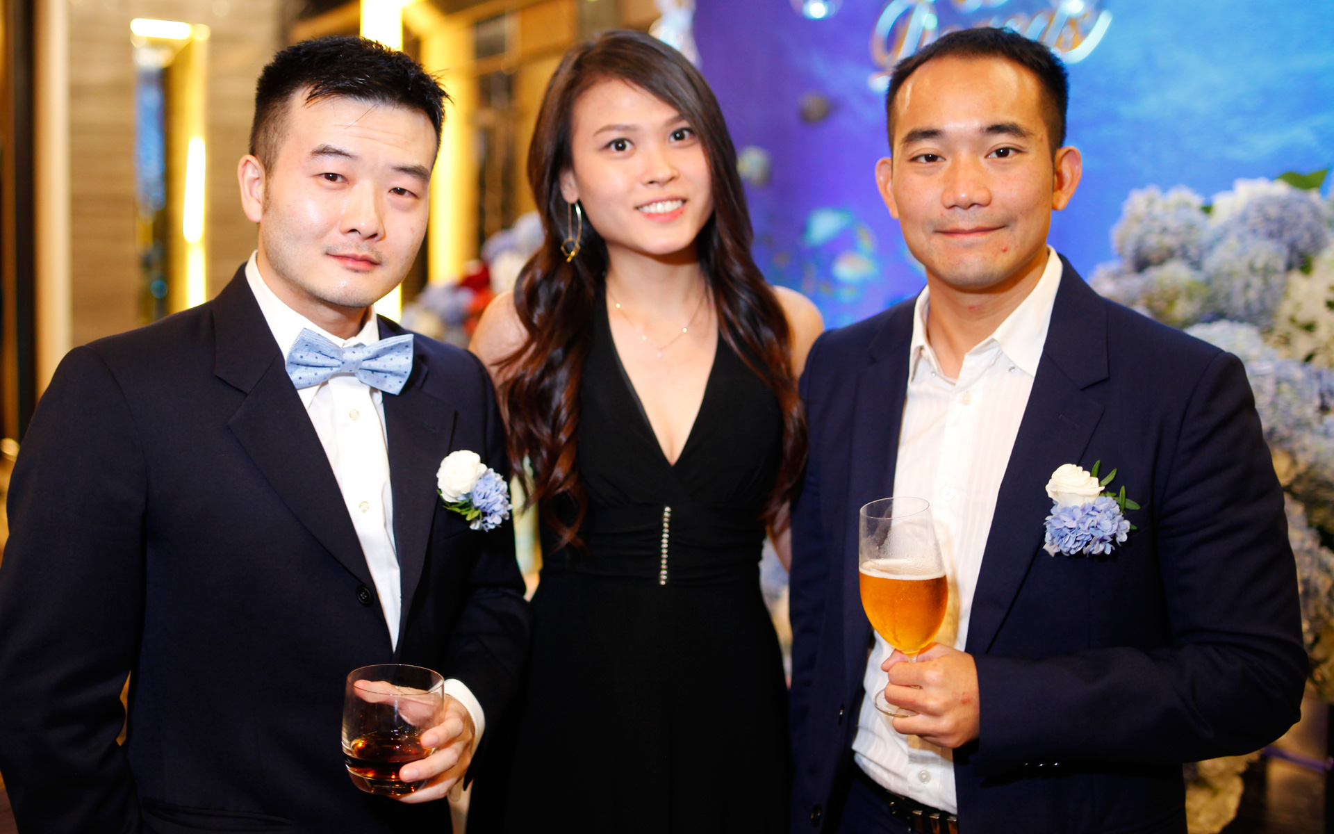 Elgan Hung, Emily Hon and YS Lee