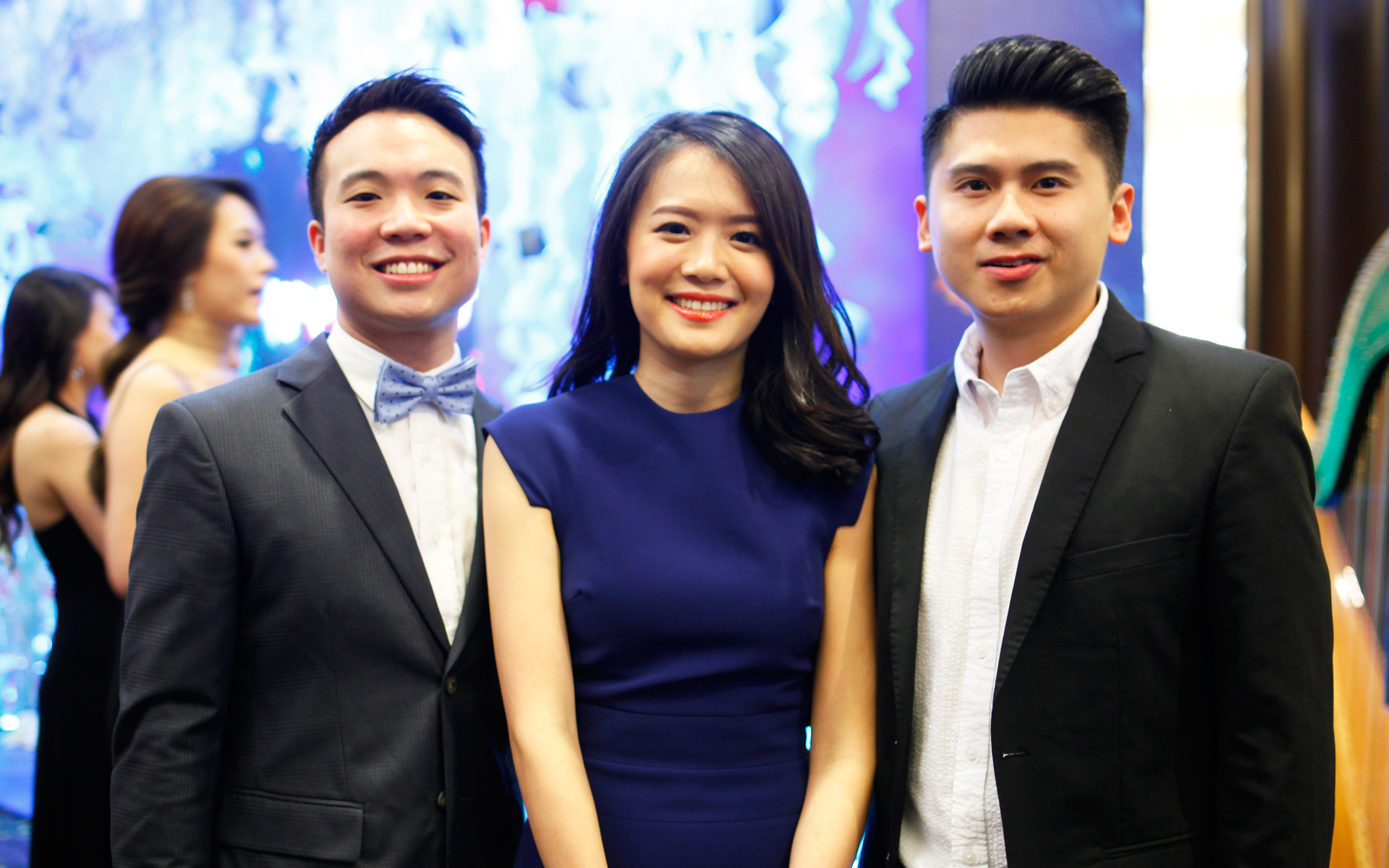 Joevy Lau, Ming Ling Tan and Sheng Keng Yap