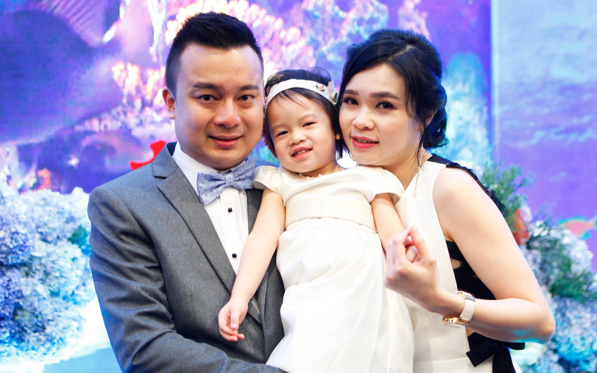 Edwin Lam, Hannah Lam and Chermaine Lam