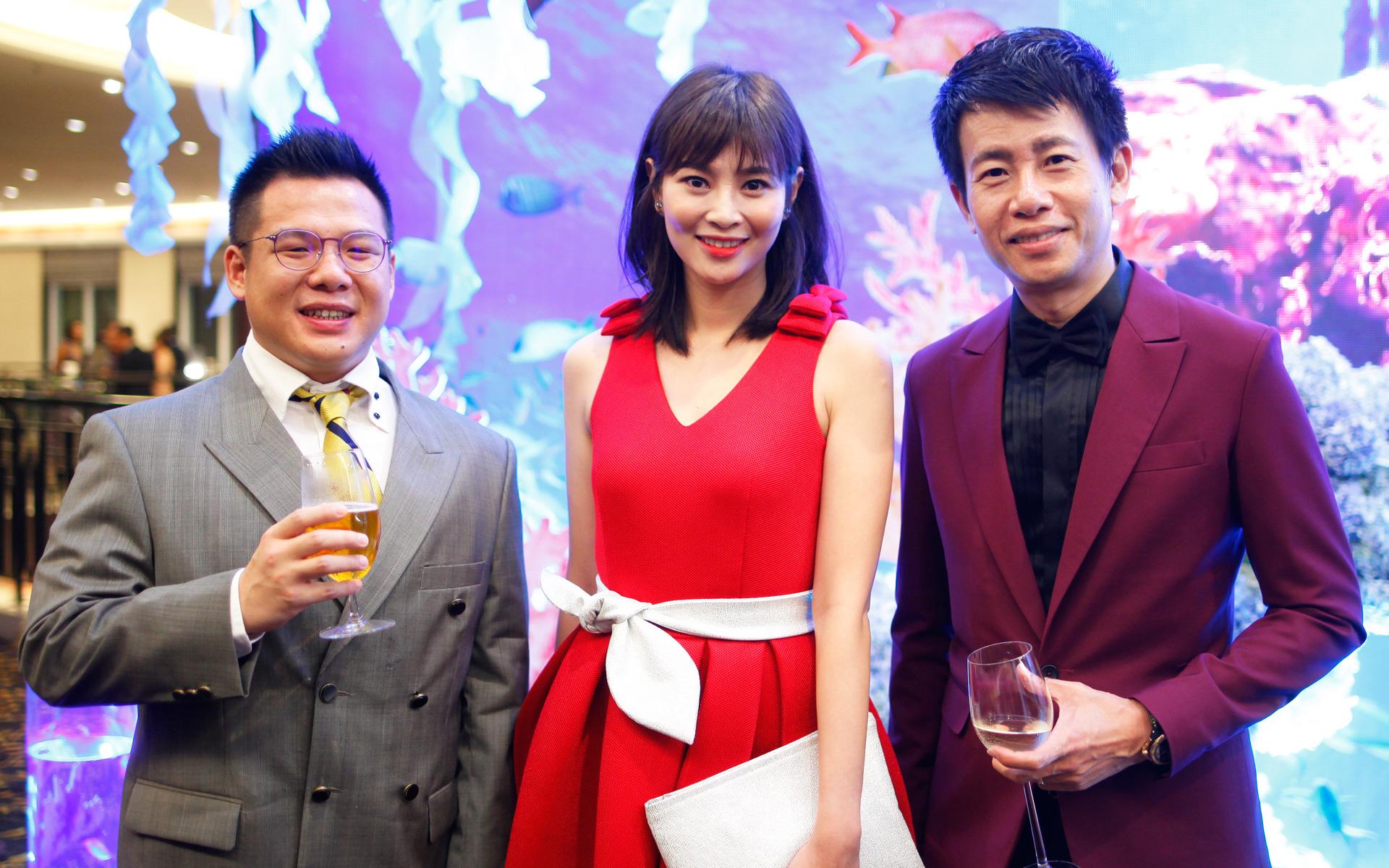 Chow Zi Chong, Jan Chin and Key Ng