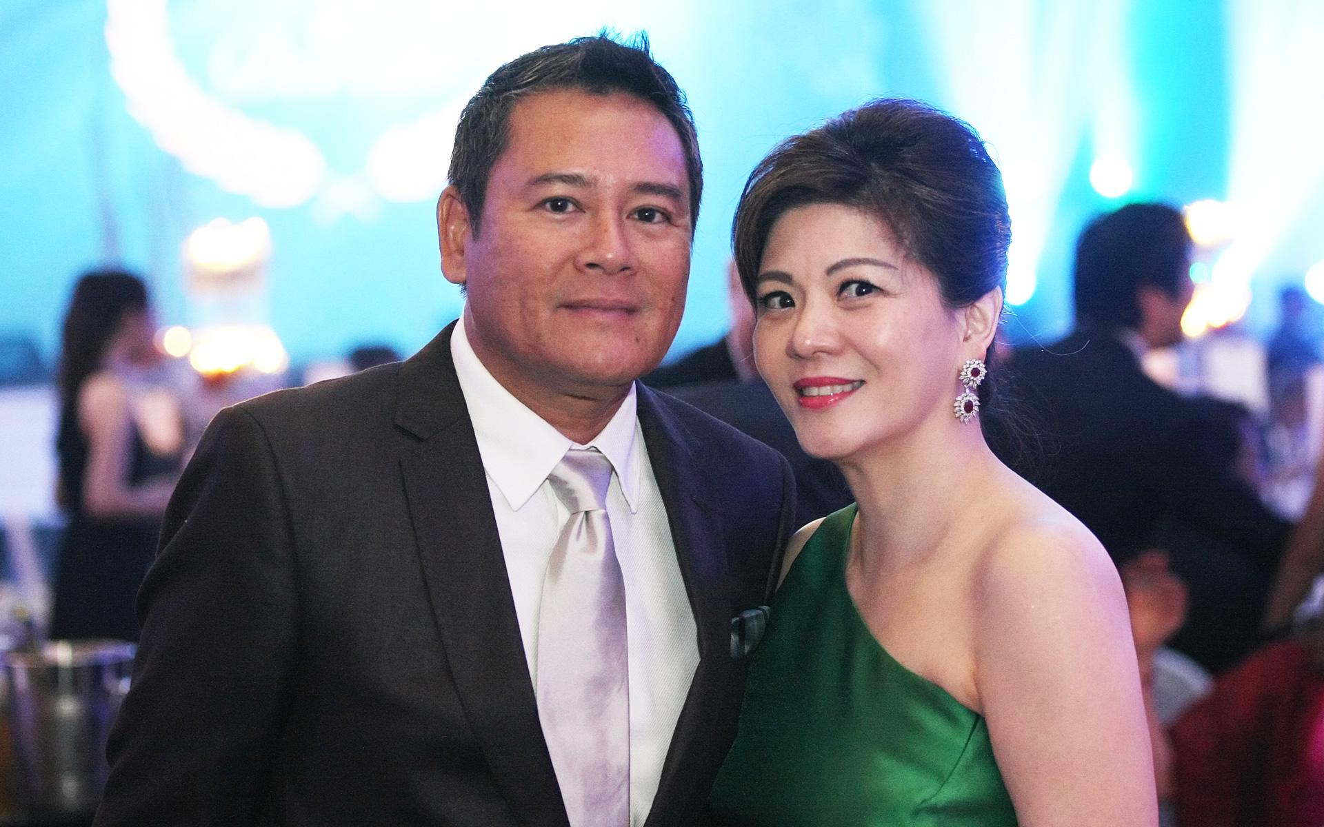 Tunku Dato' Johanez and Che Puan Datin Winnie Low