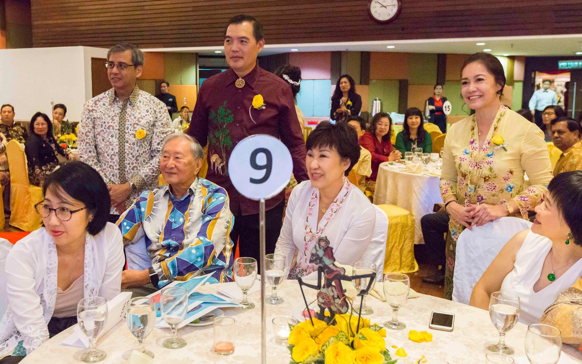 Melissa Chan, Peter Chua, Henry Chan, Cedric Tan,  Emily Lim and Nancy Chan