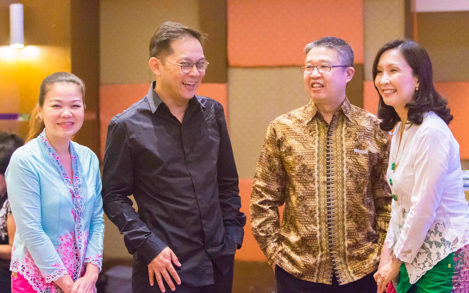 Datin Margaret Chan, Datuk Murphy Chan, Deric Chi and Wendy Wong