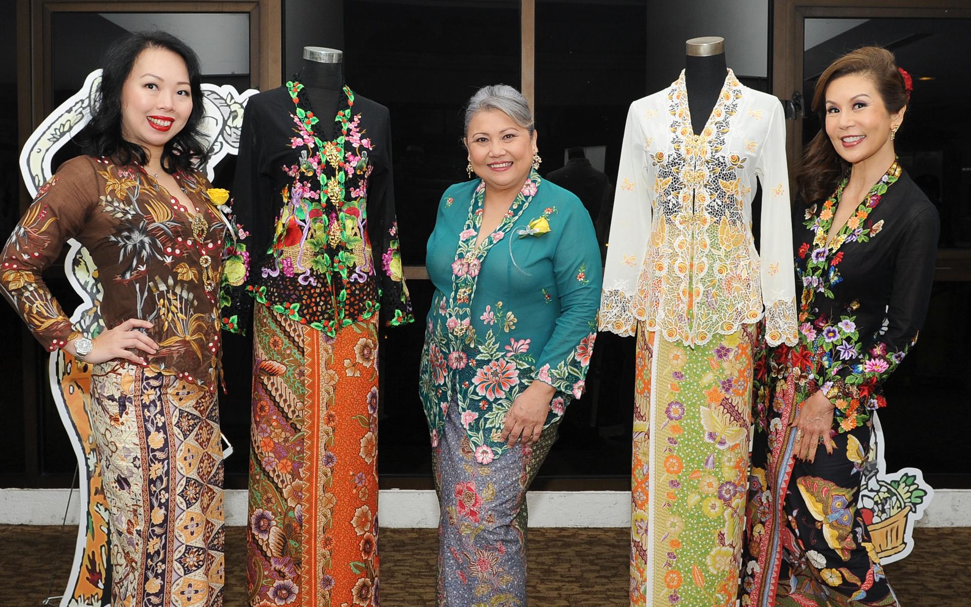 Linda Lim, Kessy Theseira and Vivienne Lee