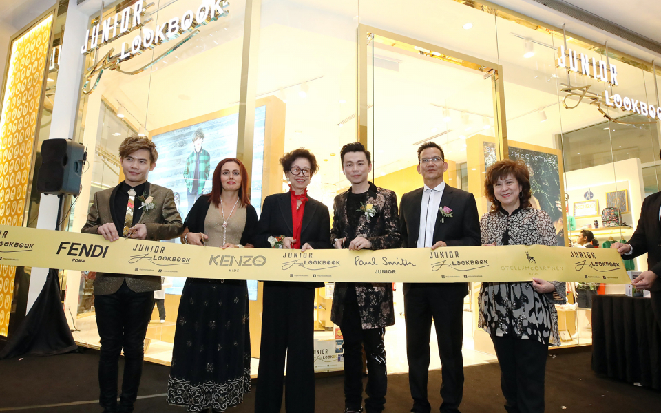 Matthew Benjamin Yoon, Silvia Marra, Datin May Lee Leong , Brian John Yim, Datuk Rashidi Hasbullah and Elizabeth Lee Fuh Yen