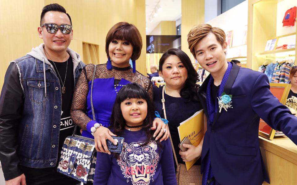 Dato' AC Mizal Zaini, Datin Emylia Rosnaida, Fea Eryss, Mary Ng and Matthew Benjamin Yoon