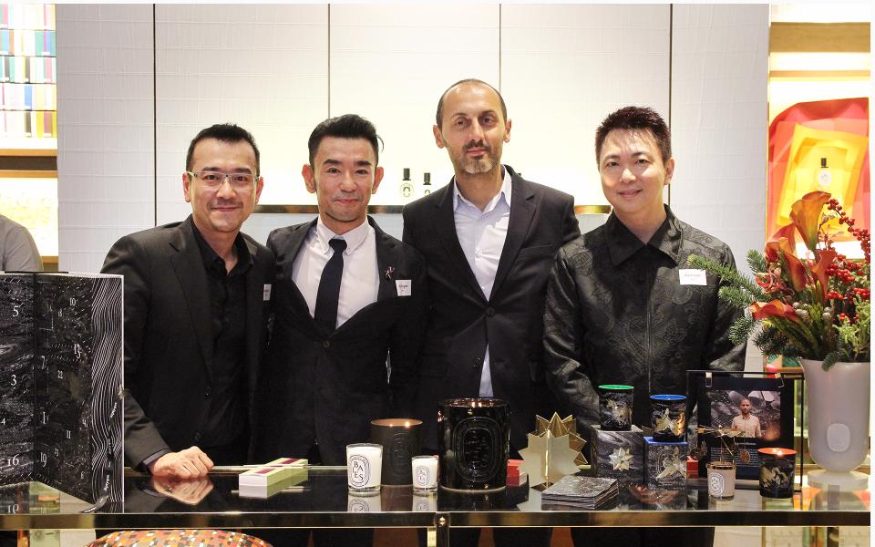 Bernard Lim, Ken Lim, Eric Cauvin and Lovell Ho
