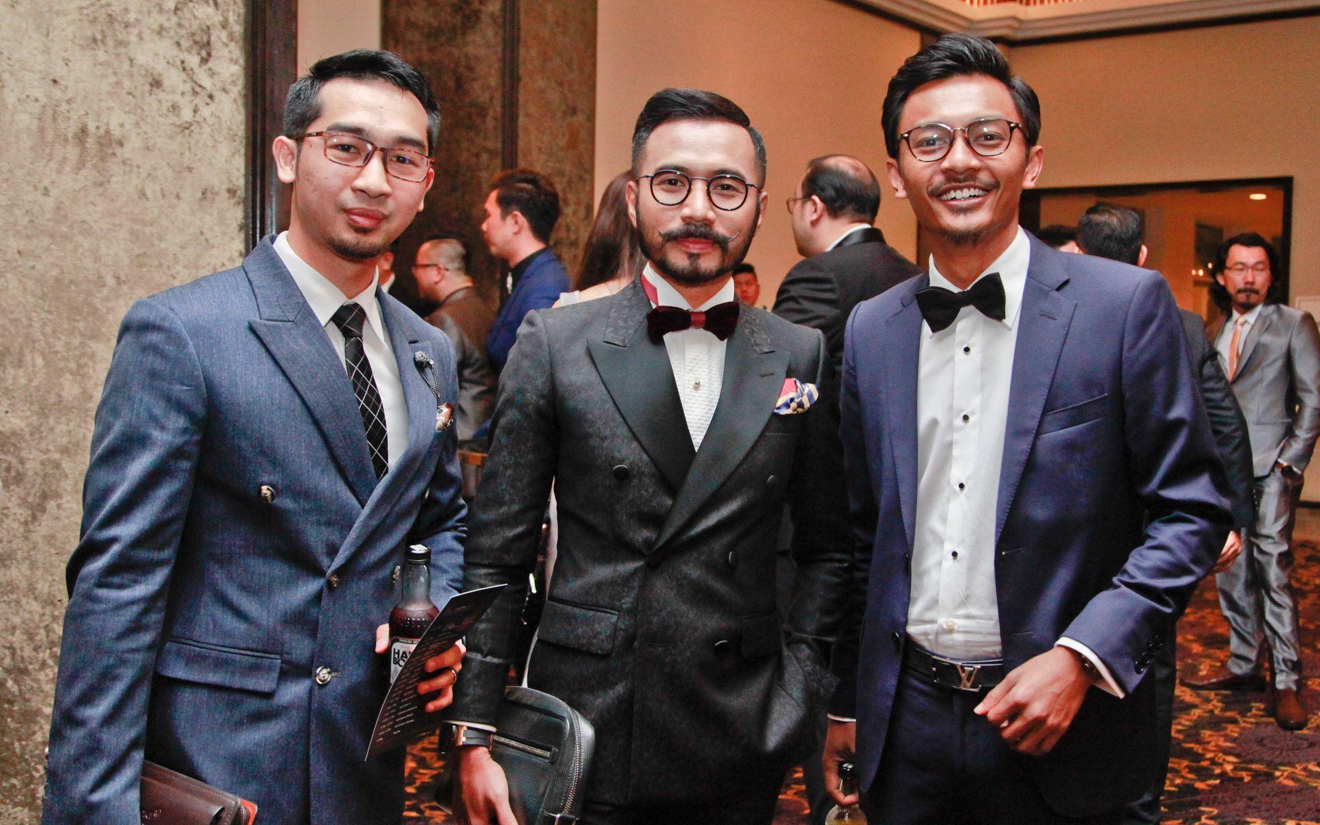 Akram Zulkifli, Wak Doyok and Azri Zahier Azmi