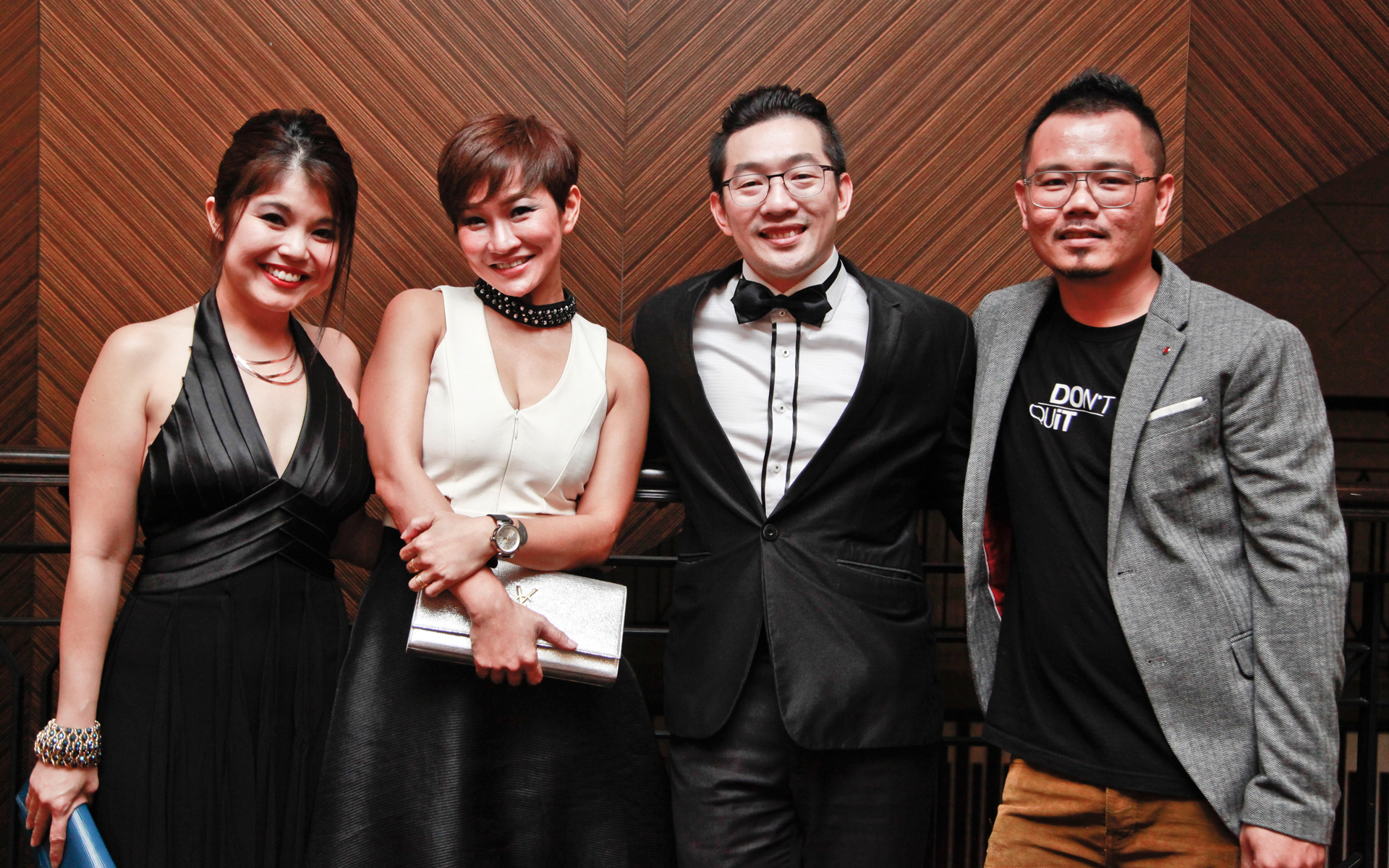 Suzanne Chan, Carol Lim, Eric Yap and Anco Goh