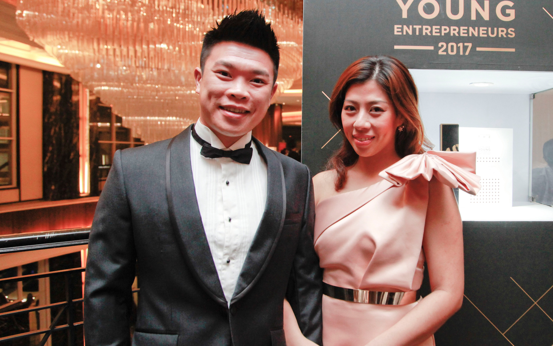 Roy Liew and Janice Chee